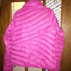 Jackets & Blazers - Under armour pink jacket medium